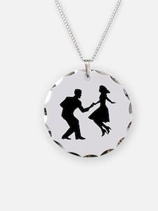 Swing dancing Necklace