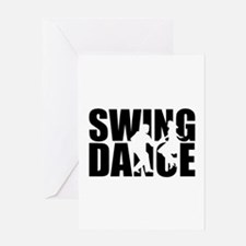 Swing dance Greeting Card