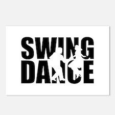 Swing dance Postcards (Package of 8)