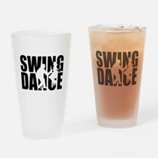 Swing dance Drinking Glass