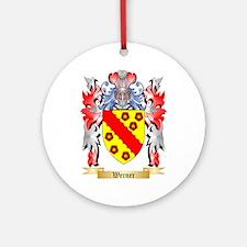 Werner Round Ornament