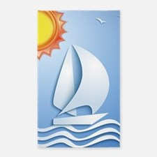 Summer Sailing Area Rug