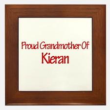 Proud Grandmother of Kieran Framed Tile