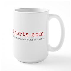 eTrueSports Logo Giant Mug