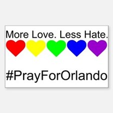Pray for Orlando Decal