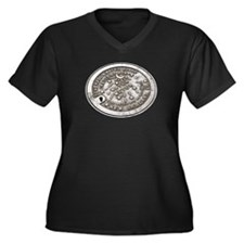 New Orleans Water Meter Women's Plus Size V-Neck D