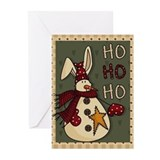 Xmas with bunnies Greeting Cards (20 Pack)
