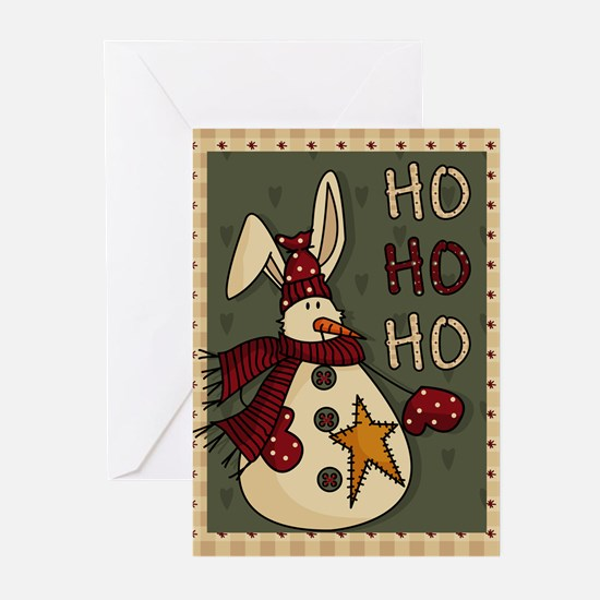 """snowman"" Greeting Cards"