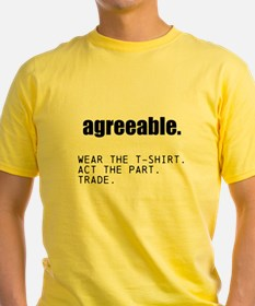 Agreeable. - Acting Class T-Shirt