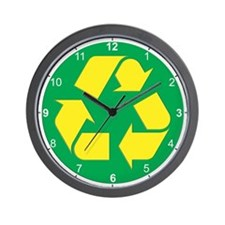 Recycling life Wall Clock