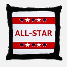 ALL STAR Throw Pillow