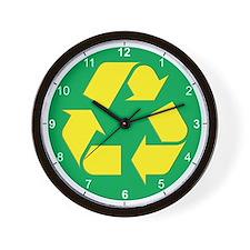Recycling life Wall Clock