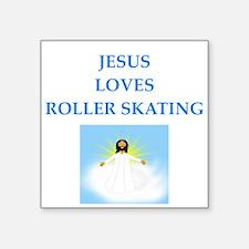 roller skating Sticker
