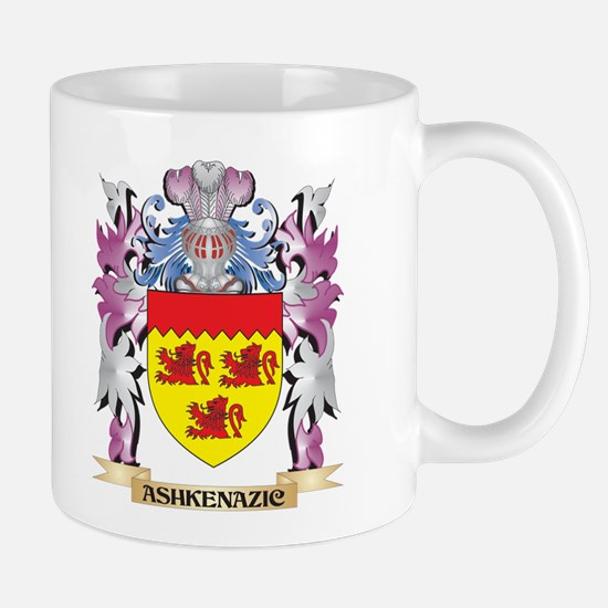 Ashkenazic Coat of Arms (Family Crest) Mugs