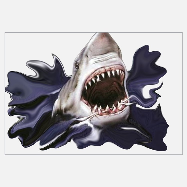 Cute Sharknado Wall Art