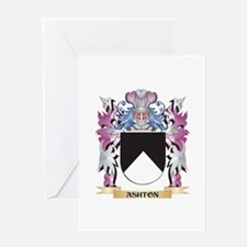 Ashton Coat of Arms (Family Crest) Greeting Cards