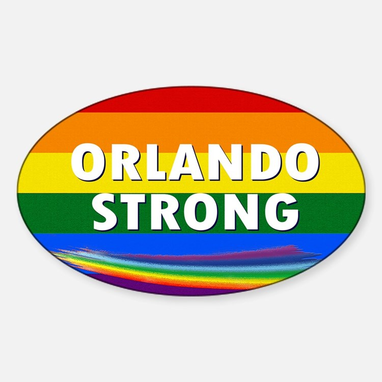 ORLANDO STRONG PRIDE Decal