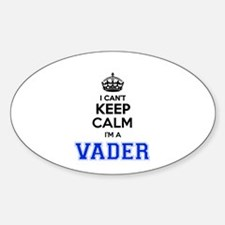 I can't keep calm Im VADER Decal
