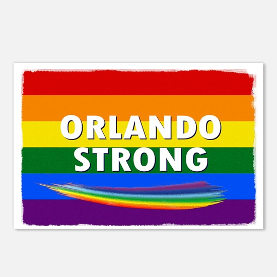 ORLANDO STRONG PRIDE Postcards (Package of 8)