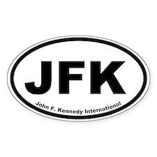 John F. Kennedy International Oval Decal