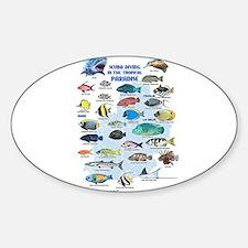 Aquarium Oval Decal