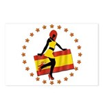 Sexy Girl Spain 1 Postcards (Package of 8)