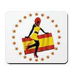 Sexy Girl Spain 1 Mousepad