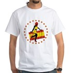 Sexy Girl Spain 1 White T-Shirt