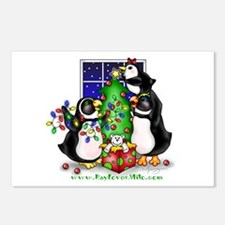 Family Christmas Postcards (Package of 8)