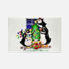 Family Christmas Rectangle Magnet