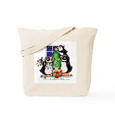 Family Christmas Tote Bag