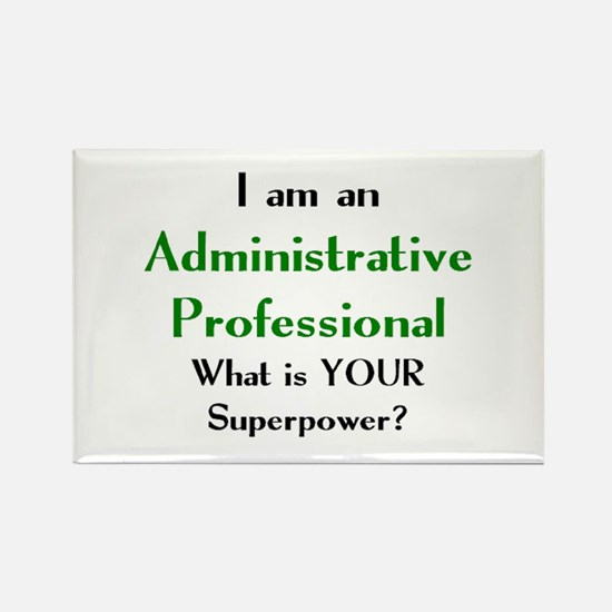 administrative professional Rectangle Magnet