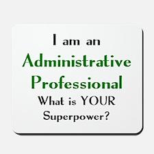 administrative professional Mousepad