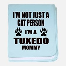 I'm a Tuxedo Mommy baby blanket