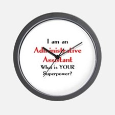 administrative assistant Wall Clock