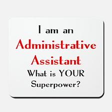 administrative assistant Mousepad