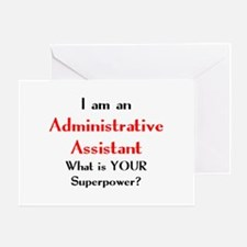 administrative assistant Greeting Card