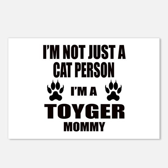 I'm a Toyger Mommy Postcards (Package of 8)