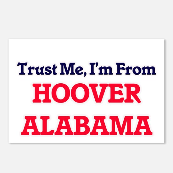 Trust Me, I'm from Hoover Postcards (Package of 8)