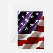 American Fla Greeting Cards
