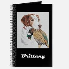 Am Brittany w/Pheasant Journal
