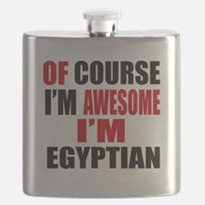 Of Course I Am Egyptian Flask