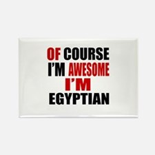 Of Course I Am Egyptian Rectangle Magnet