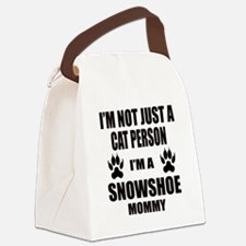 I'm a Snowshoe Mommy Canvas Lunch Bag