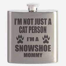 I'm a Snowshoe Mommy Flask