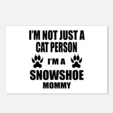 I'm a Snowshoe Mommy Postcards (Package of 8)