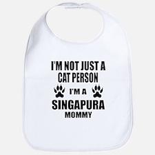 I'm a Singapura Mommy Bib