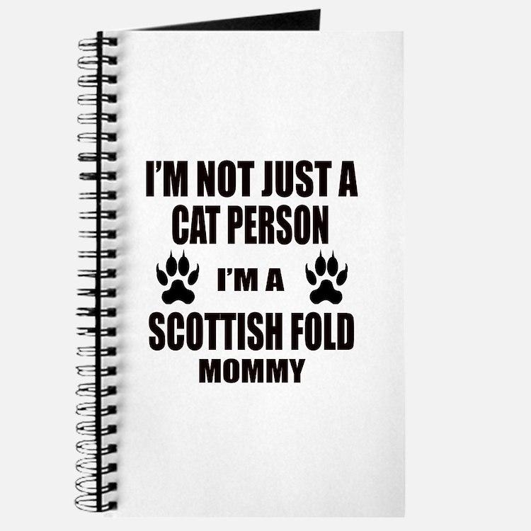 I'm a Scottish Fold Mommy Journal