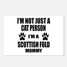 I'm a Scottish Fold Mommy Postcards (Package of 8)