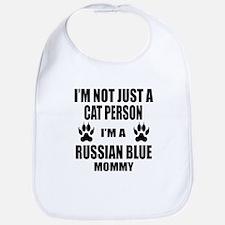 I'm a Russian Blue Mommy Bib